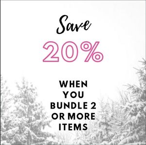 Save 20% on 2+ Items!